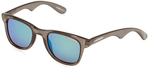 Carrera Unisex Wayfarer Sonnenbrille, Grey Blue, 50