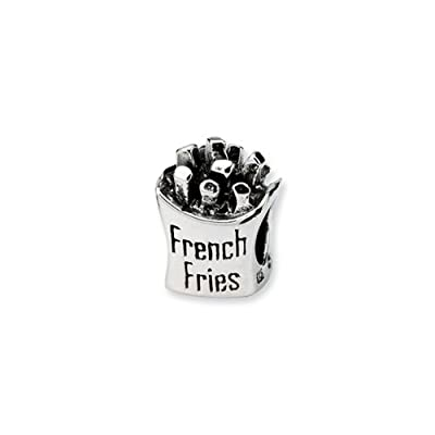 Black Bow Jewellery Company-Frites en argent pour Bracelets 3 mm
