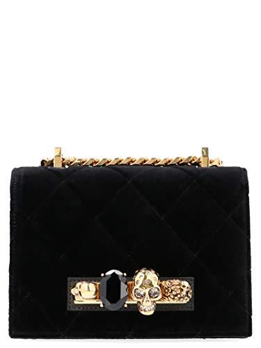 Alexander McQueen Luxury Fashion Donna 558541KR4AT1000 Nero Borsa A Spalla | Autunno Inverno 19