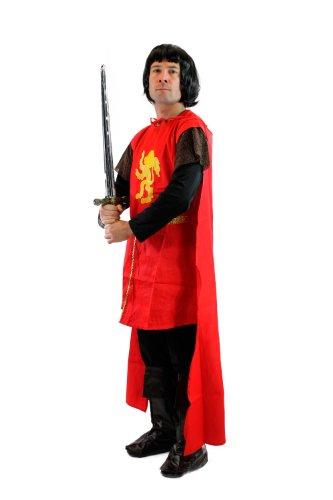 DRESS ME UP - Kostüm Herren Herrenkostüm Ritter Mittelalter Kreuzritter Löwenherz L060 (Kostüm Ritter Sie Stellen)