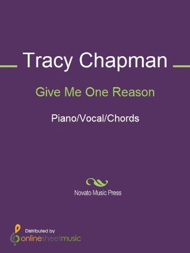 Give Me One Reason Ebook Tracy Chapman Amazon Kindle Store