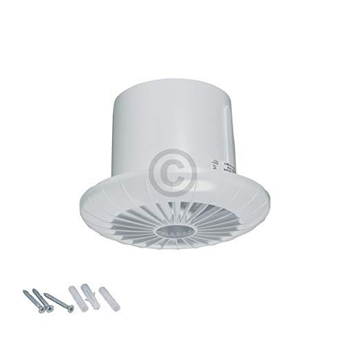 Wohnraumventilator mit Kugellager Feuchtigkeitssensor für Bad Toilette Ø 100 mm