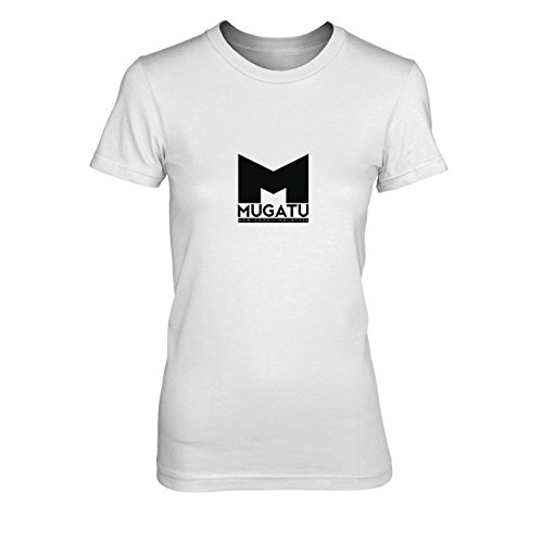 Mugatu - Damen T-Shirt, Größe: XL, Farbe: weiß (Mugatu Zoolander Kostüm)