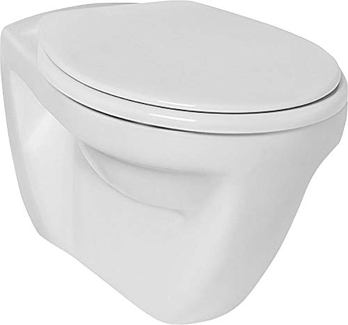 Ideal Standard - WC Toilette Wand WC Flachspüler - 355 x 370 x 520 mm - Farbe weiss - K286301 -