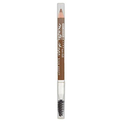 Maybelline New York Augenbrauenstift Master Shape Brow Pencil Dark Blond / Eye Brow Pencil Augenbrauen Gel Creme mit Bürste Dunkelblond, 1 x 0,84 g (Glow In The Dark Hair Gel)