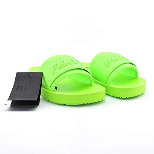 wholesale dealer 56e8b 4baf0 Chancleta Puma Fenty Surf Slide WNS Mujer Verde 37