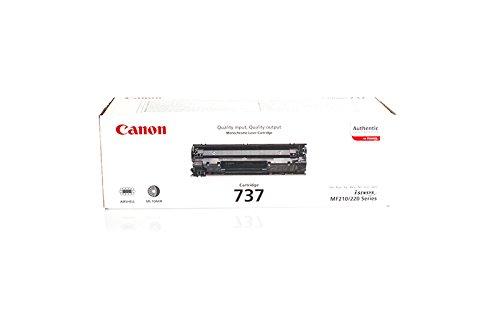 Preisvergleich Produktbild Original Canon 9435B002 / 737 Toner (schwarz, ca. 2.400 Seiten) für I-Sensys MF 211, MF 212, MF 216, MF 217, MF 226, MF 227, MF 229; Imageclass MF 211, 216