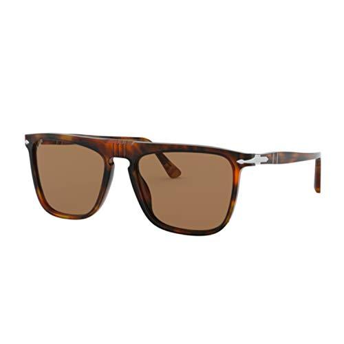 Ray-Ban Unisex-Erwachsene 0PO3225S Sonnenbrille, Blau (Caffe), 56.0