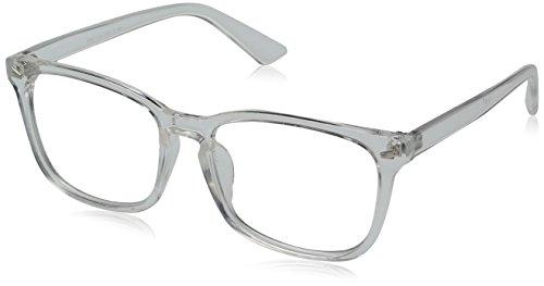 TIJN Brillengestelle Damen Brille ohne sehstärke mit klaren Gläsern für Frauen