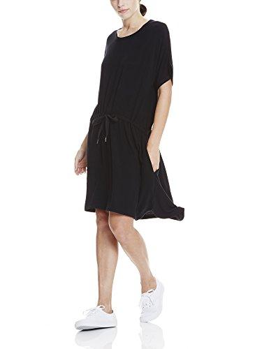 Bench Damen Kleid Kimono Sleeve Sweaty Dress Schwarz (Black Beauty BK11179)