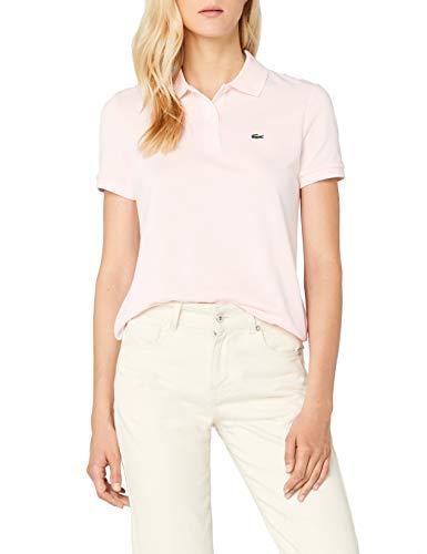 Lacoste Damen Poloshirt Pf7839,Rosa (Flamant),40 (Herstellergröße: 40) - Polo-shirts Frauen