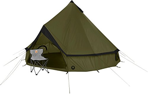Grand Canyon Indiana – round tent ( 8-person tent), olive/black, 602006