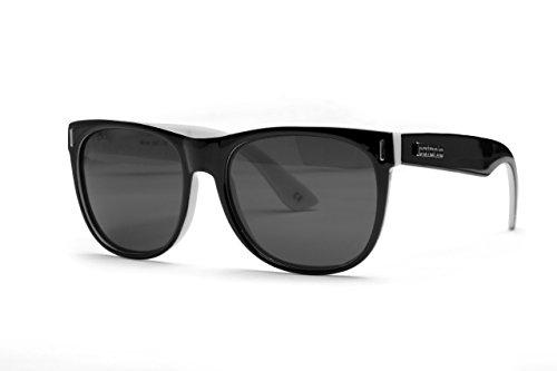 Catania Occhiali Sonnenbrille - Vintage Stil Retro Vintage Unisex Brille - Limited Edition (Schwarz Weiß)