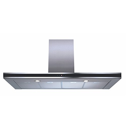 CDA EVP121SS 120cm Touch Control Linear Cooker Hood in Stainless Steel