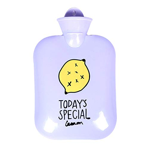 MSYOU - Bolsa de agua caliente grande de plástico para invierno, ideal como regalo para mujeres y niñas, 26 x 18 cm, color morado preisvergleich