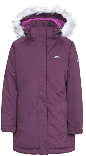 Trespass Fame Girls Waterproof Jacket Lightly Padded