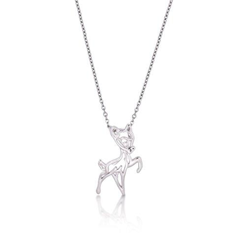 Disney Couture oro blanco Bambi ciervos esquema Character collar