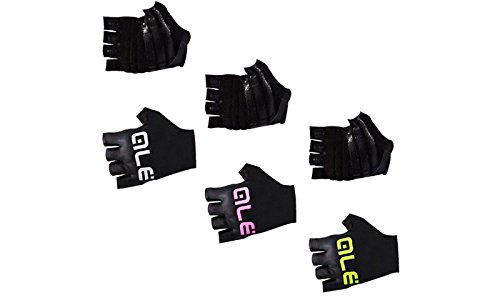 ALE   TRADE ARIA SUMMER GLOVES  COLOR BLACK / WHITE  TALLA L