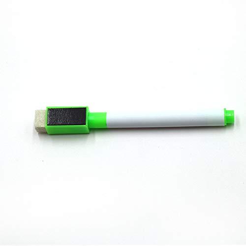 Multi-Color-Kinder Mit Magnetischem Kleinen Whiteboard-Stift Qualität Hervorragender Löschbarer Bandpinsel Zum Schreiben Von Multi-Color-Markierstift-Whiteboard-Stift Grün
