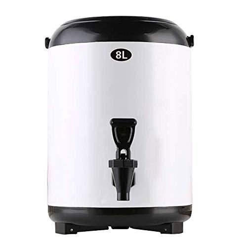 Aprilhp Thermoskanne Tee, Glühweinkocher, Heißwasserspender, Kaffeebehälter Kaffeekanne, Isolierkanne Thermoskanne Thermobehälter für Kaffee oder Tee, Hält Getränke 12h Kalt und Warm