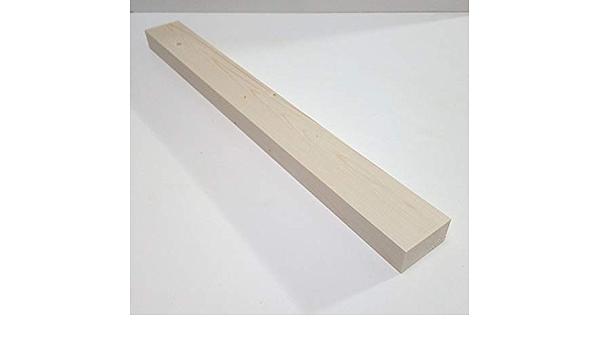 Sonderma/ße 3x5x60cm lang. 5cm breit 1 St/ück 3cm starke Holzleisten Kanth/ölzer Bretter Fichte//Tanne massiv