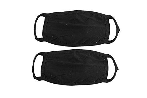 dmtse 8PCS X Baumwolle Anti Staub Cechya Gesicht Mund Maske schwarz für Mann Frau