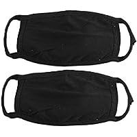 Preisvergleich für dmtse 8PCS X Baumwolle Anti Staub Cechya Gesicht Mund Maske schwarz für Mann Frau