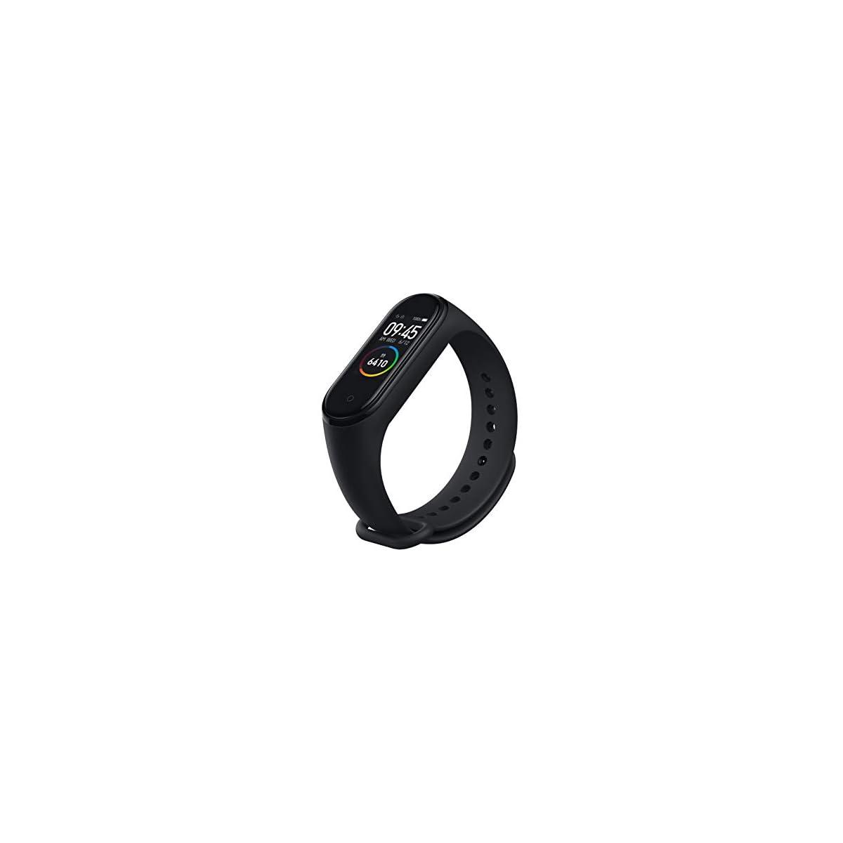 31iU3z7OeyL. SS1200  - Xiaomi Mi Smart Band 4 - Tracker de actividad física con medidor de frecuencia cardíaca - Negro - Unisex