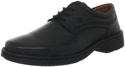 Josef Seibel Schuhfabrik GmbH Talcott 38200 23 600 - Zapatos de cordones de cuero para hombre, color negro, talla 49