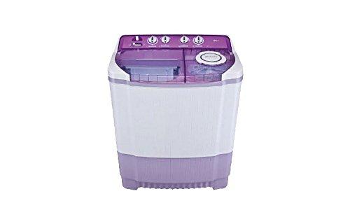 LG 7.5 kg Semi-Automatic Top Loading Washing Machine (P8537R3SA, Mauve)