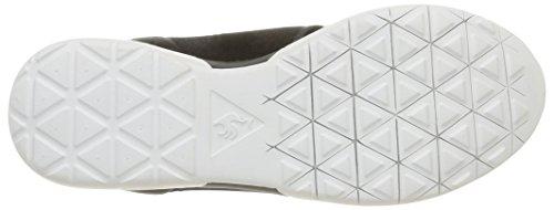 Le Coq Sportif Dynacomf Text Unisex-Erwachsene Sneaker Schwarz - Schwarz (Black)