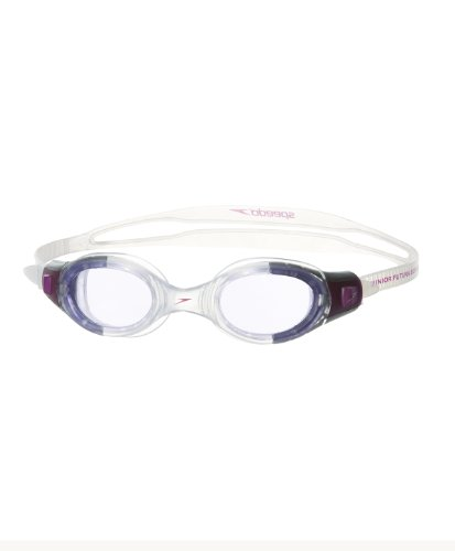 Speedo Unisex - Kinder Schwimmbrille Futura Biofuse, purple/purple, one size, 8-012339318