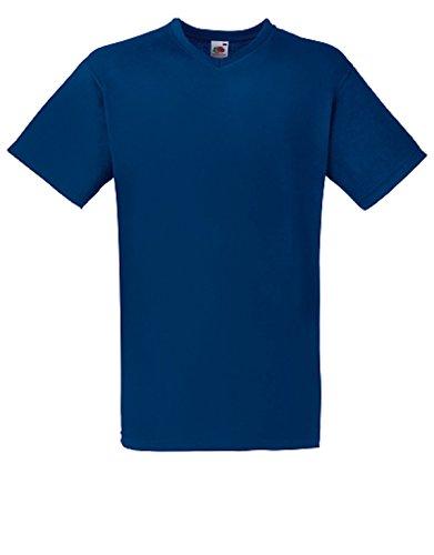 Fruit of the Loom Herren T-Shirt Marineblau