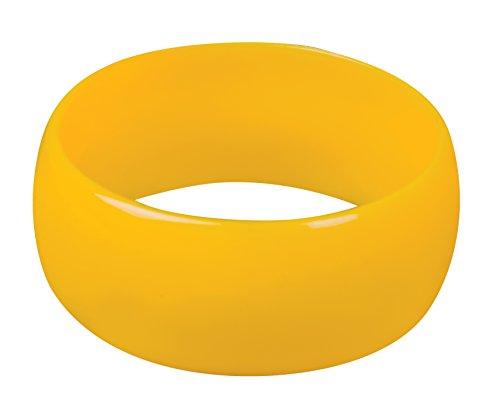 Boland 64459Armband Bangle Retro Vintage, gelb, Einheitsgröße
