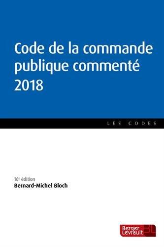 Code de la commande publique commenté par