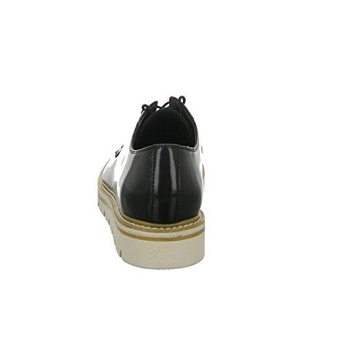 Tamaris 1-1-23703-35-001, Scarpe stringate donna Nero (001*black)