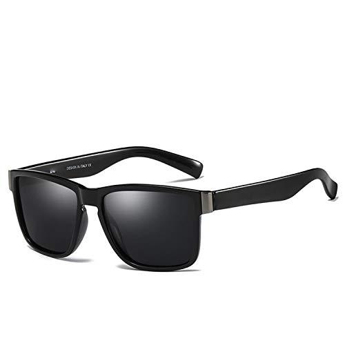 FGRYGF-eyewear2 Sport-Sonnenbrillen, Vintage Sonnenbrillen, NEW Spuare Spiegel UV400 Brand Design Polarisiert Sunglasses Men Driver Shades Male Vintage Sun Glasses For Men Oculos DY518 WITN YUAN NO.8