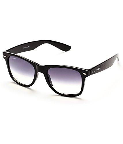 Danny Daze UV Protected Rectangular Unisex Sunglasses (D-1704-C2 50MM Grey)