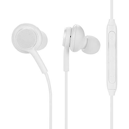 Diadia 3,5 mm In-Ear-Kopfhörer, eingebautes Mikrofon, Super Bass, Stereo-Headset, schweißfest, Metall-Kopfhörer, Android für Samsung Galaxy S8, S8+, Note8, HP, HTC, Lenovo