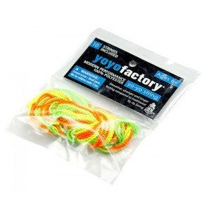 YoYoFactory 100% Polyester String 10 Pack (Assorted Colors) by YoYoFactory