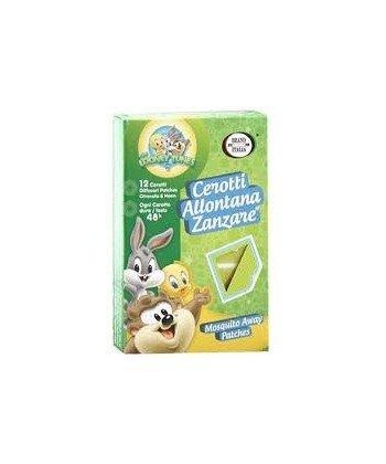Scheda dettagliata 12 Cerotti allontana zanzare neonati e bambini antizanzare baby looney Tunes