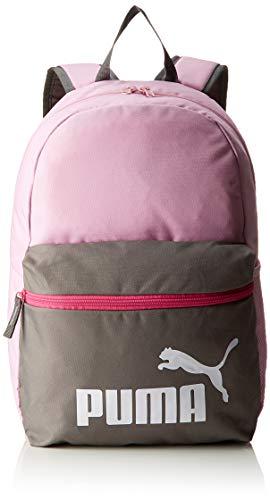 PUMA Phase Unisex-Rucksack für Erwachsene, Rosa / Grau (Pale Pink-Charcoal Gray), Einheitsgröße