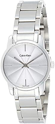 Calvin Klein K2G23146 Womens Quartz Watch, Analog Display and Stainless Steel Strap - Silver
