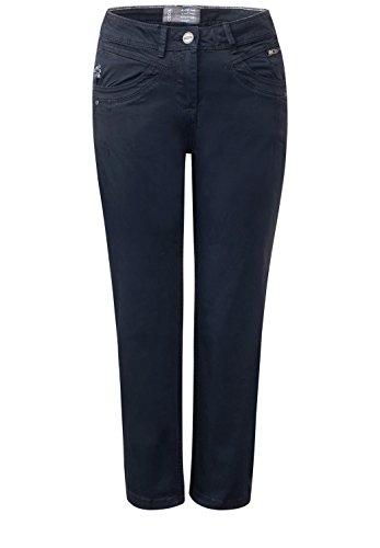 Cecil -  Pantaloni  - Basic - Donna deep blue (blau)