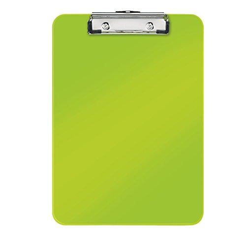 Leitz 39710064 Klemmbrett WOW, A4, PS, grün metallic