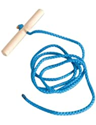 Sledge Rope With Wooden Handle - Length 145 cm