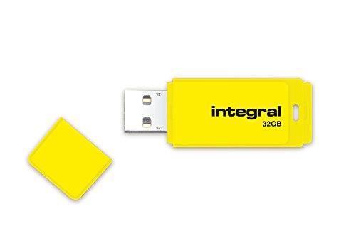 INTEGRAL 32GB USB-Stick NEON gelb -