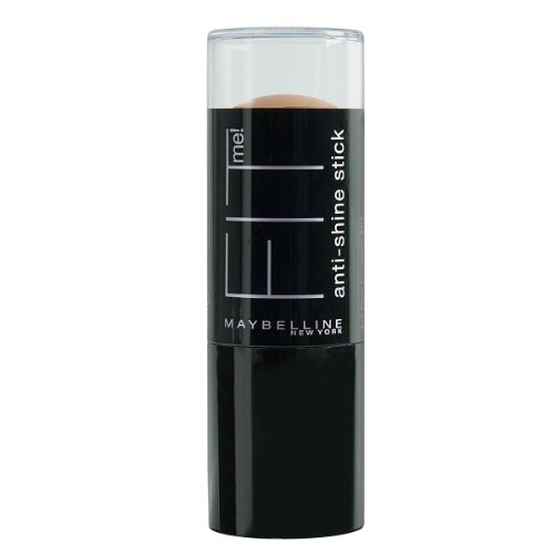 Maybelline New York Fit Me 2-In-1 Anti-Glanz Make-Up Stick, 250, 1er Pack (1 x 9 g)