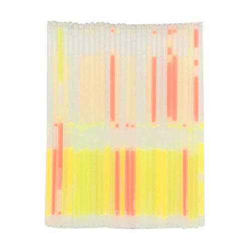 Hahuha , Liquid Light Stick Light Stick Fluoreszierende Armband milchig weiße Muschel 20PCS