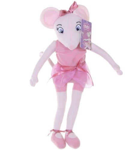 Angelina Ballerina Puppe Plüschtier Teddy Angelina Ballerina (Soft Doll Ballerina)
